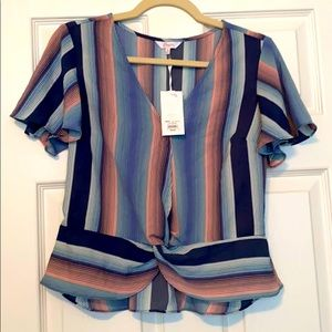 Candies striped blouse
